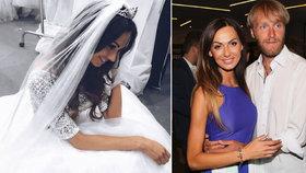 Eliška Bučková si zkouší svatební šaty! Bude veselka s rybářem?