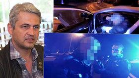 Hvězda Ordinace Hruška: Opilý naboural několik aut a za volantem usnul