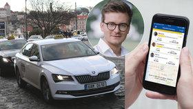 Ředitel Liftago: Za krizí taxislužby stojí řidiči-amatéři. Řešení může být jednoduché