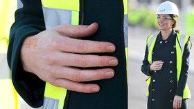 Těhotná vévodkyně Kate: Na pravé ruce má vytetovaný zvláštní symbol!