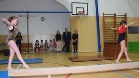 Vinohradská škola má novou tělocvičnu. Stará byla v nepoužitelném stavu