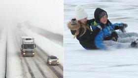 Zima z obou stran. Mrazivá bouře Emma a Stvůra z východu dál svírají Evropu. Počasí komplikuje dopravu
