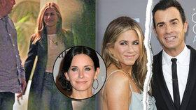 Jennifer Aniston se po rozchodu s manželem směje: Rozveselila ji nejlepší kámoška z Přátel