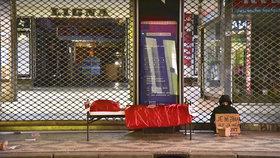 Studentka Radka (20) přespala na ulici: Nemohla jsem se přestat klepat, popsala bezdomoveckou zkušenost