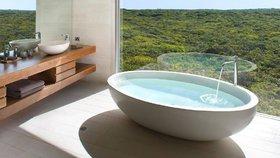 Nejkrásnější koupelny na světě: Luxusní, designové i v kontaktu s přírodou