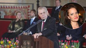 Kocábová o Zemanově inauguraci: Útočit na novináře po zavraždění jednoho z nich, to je dno!