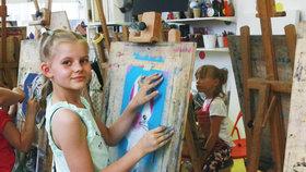 Léto plné malování, zážitků i legrace