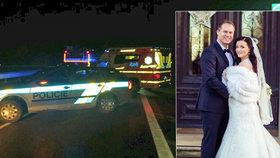 Hrozivá nehoda manžela moderátorky Savarové: Auto na střeše, utrpěl zranění hlavy!