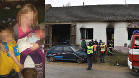 Babička dětí z domu hrůzy: Pokoušela jsem se chlapečka z ohně vytáhnout