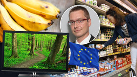 """Elektronika zdraží o tisíce, ovoce bude málo."" Ekonom popsal dopady Czexitu"