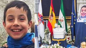 Zavražděného Gabriela (†8) pohřbili v bílé rakvi: Poslanci drželi minutu ticha