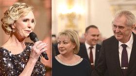 "Zeman slavil s věrnými: ""Bitva skončila,"" radoval se na koncertě s Hůlkou a Vondráčkovou"
