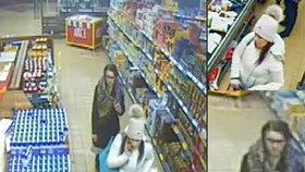 VIDEO: Muž postříkal oběť slzným plynem a ukradl jí kabelku! Její kartou pak platily dvě ženy s dítětem