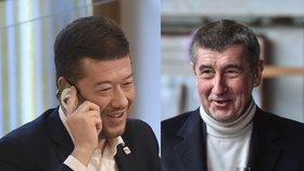 """Okamura s Babišem """"upekli"""" vládu odborníků, tvrdí šéf SPD. Chybí jediný hlas"""