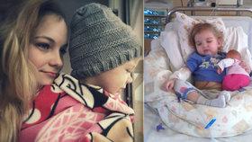 Nikolce (5) ochrnul žaludek: Kvůli zákeřné chorobě strávila většinu života v nemocnici