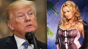 Trump prolomil ticho u aféry s pornoherečkou. O penězích za mlčení prý nevěděl