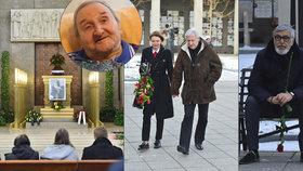 Pohřeb Vlastimila Bedrny (†89): Bartoška s Heřmánkem splnili slib, který dali kamarádovi