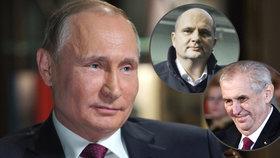 """""""Trapné proruské Česko."""" Putin zamořuje Prahu a skrze ni i svět, píší Američané"""