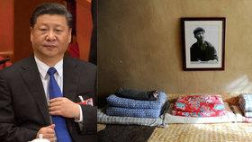 Kult osobnosti prezidenta Číny: Celá vesnice se proměnila v jeho svatyni