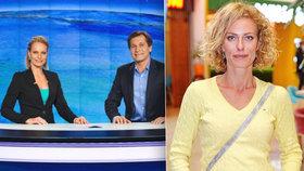 Moderátorka Kristina Kloubková je kost a kůže. Stojí za tím nemoc?