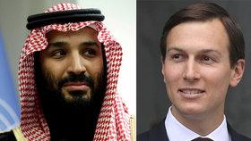 Tajné informace CIA mi vynášel Trumpův zeť, tvrdí saúdský princ