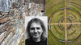 Unikátní hřbitov v Dolních Břežanech dýchá pozitivní energií: Odkazuje na nejstarší symboly civilizace