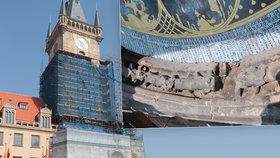 Co je největším nepřítelem opravovaného rámu Staroměstského orloje? Zažraná sůl!