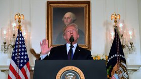 Trump dělal ramena a hrozil Putinovi za Sýrii. Další sankce ale nakonec nebudou