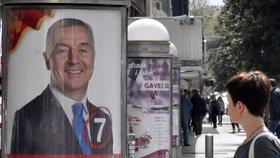 Prezidentem Černé Hory bude Djukanović. Volby vyhrál už v prvním kole