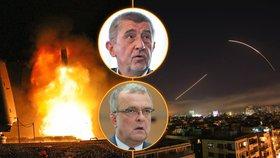 """Kalousek: """"Jsme za kašpary."""" Babiše grilovali za Sýrii, komunisté strašili katastrofou"""