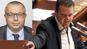 """Místo """"mlátičky"""" Ondráčka zvolili poslance ANO Maška. Kalousek bouří: Je to ostuda"""