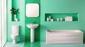 Nejkrásnější zelené koupelny. Která se líbí vám?