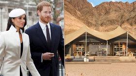 Dobrodruzi princ Harry a Meghan Markle: Líbánky stráví na poušti?!
