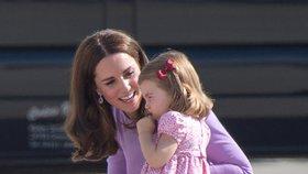 Skvělý trik: Okoukejte způsob, jakým William a Kate mluví s dětmi