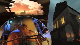 Cestování časem: Největší evropský projekt virtuální reality nabízí procházku rudolfínskou Prahou