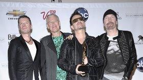 Skupina U2 byla vyhlášena za globální ikonu, ocenila ji MTV