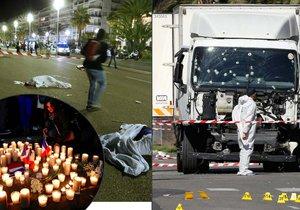 ONLINE: Tichý samotář v Nice zavraždil 84 lidí. Zraněná je i Češka