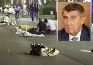 """Babišova rodina blízko útoku v Nice: """"Dcera má trauma,"""" přiznal vicepremiér"""