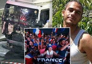 Mobil teroristy z Nice vyjevil další tajemství: Plánoval zabíjet fotbalové fanoušky?