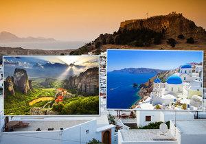 Poznejte kouzlo Řecka: Podívejte se na pět nejhezčích památek a top pláže!
