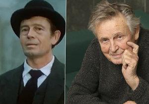 Zemřela hvězda seriálu Třicet případů majora Zemana: Herce Hlušičku přemohla rakovina