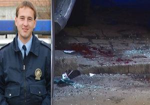 Mladík, který napadl policistu, před soudem: Za vraždu mu hrozí 20 let