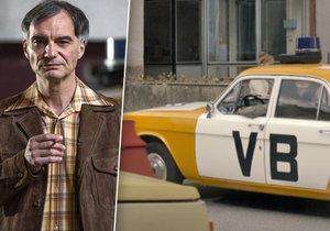 Potíže při natáčení kriminálky Svět pod hlavou: Auta VB zmizela!