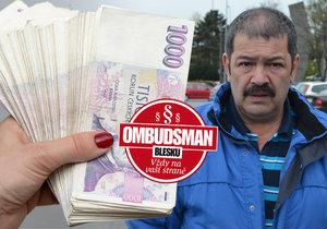 Pavel (52) se dostal do dluhové pasti: Nasekal jsem půl milionu dluhů!