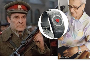 Major Zeman Vladimír Brabec slavil narozeniny: Dostal SOS hodinky!