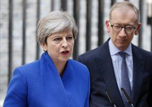 Mladí Britové vytrestali Mayovou. Premiérka chce dál vládu i brexit