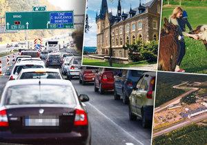 Jak si užít kolonu na dálnici D1: Zajímavá místa a dobré restaurace na dosah! Vyrazte na výlet