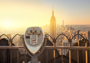 Nejlepší vyhlídka v New Yorku? Z Top of the Rock budete mít Manhattan na dlani