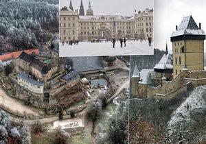 Kam vyrazit mezi svátky? 10 hradů a zámků, kde mají otevřeno! Některé si připravily i speciální program