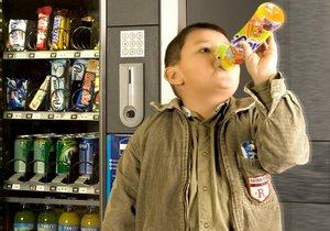 Sladké limonády nejsou pro děti zdravé